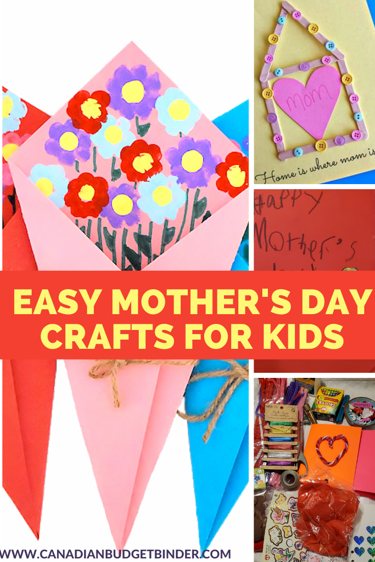 Mother's Day Crafts For Kids: The Saturday Weekend Review #327