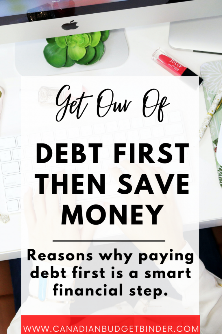 Pay Back Creditors Then Focus on Savings