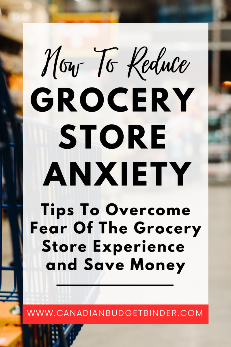 How To Reduce Grocery Store Anxiety