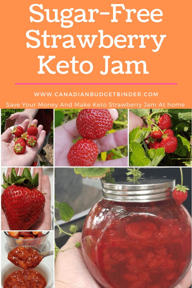 Simple Sugar-Free Strawberry Keto Jam