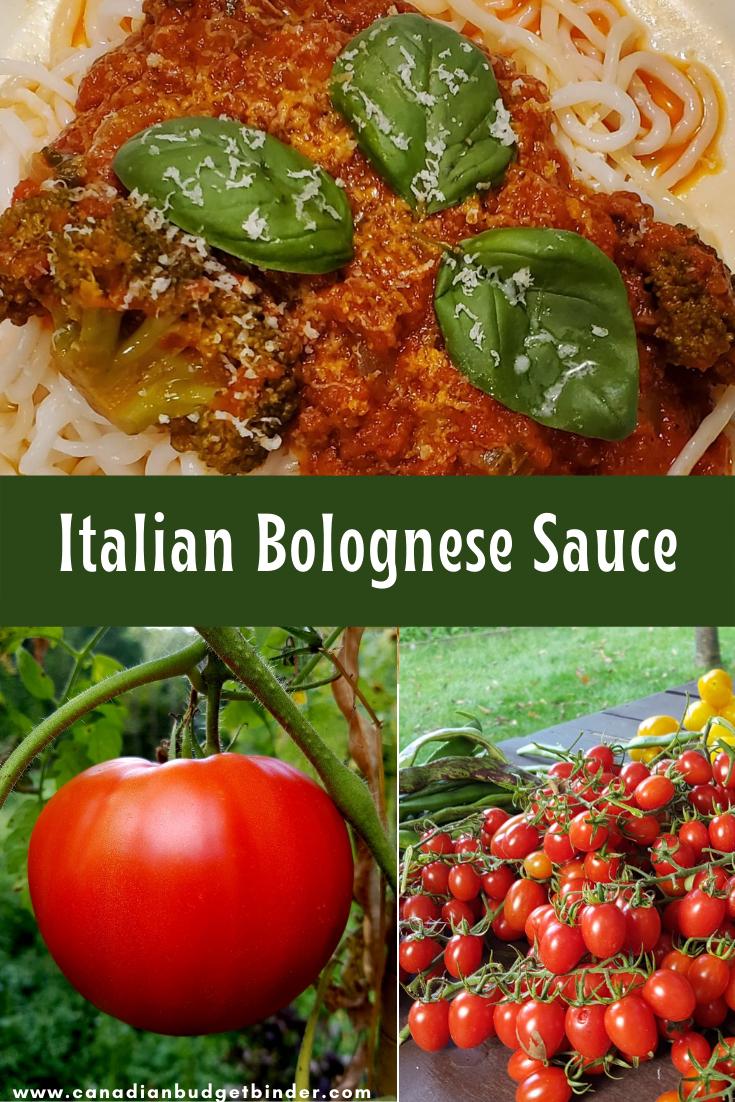 Authentic Italian Bolognese Sauce