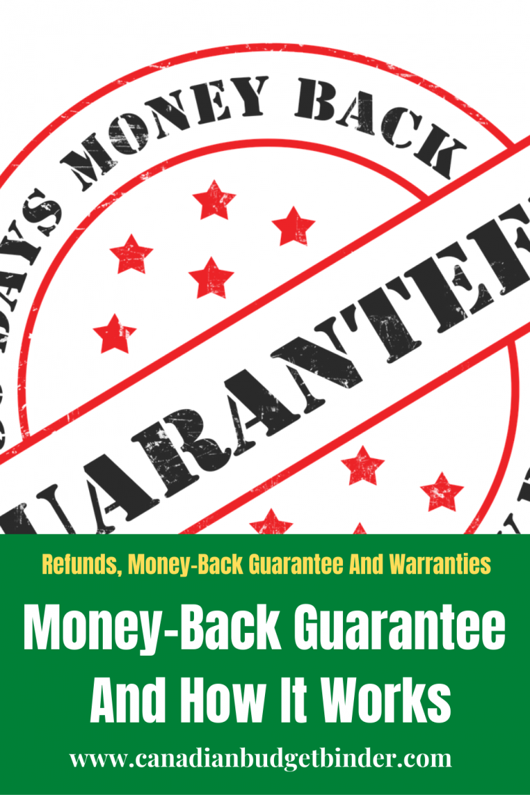 The Ultimate Guide For Canadian Consumers To Understand A Money-Back Guarantee
