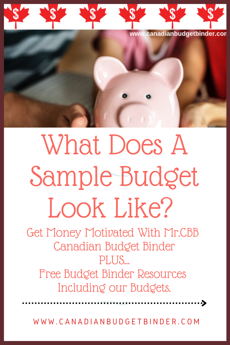 What Does A Sample Budget Look Like? : April 2021 Budget Update