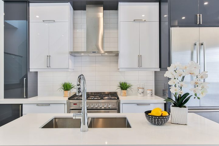 Flipped house kitchen reno after photo