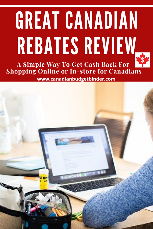 Great Canadian Rebates Review From Canadian Budget Binder.