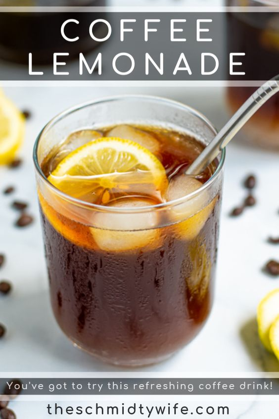 Iced Coffee Lemonade