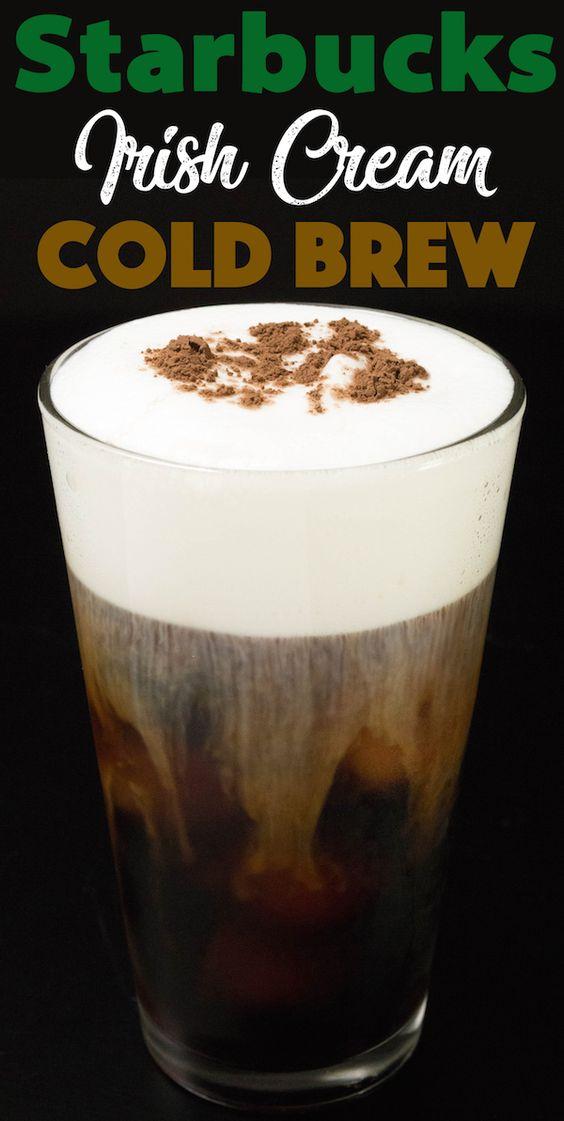 Starbucks Irish Cream Cold Brew Coffee