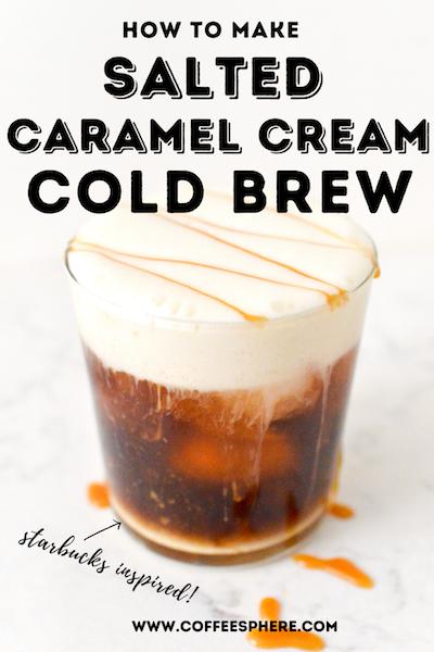 Salted Caramel Cream Cold Brew Coffee Recipe
