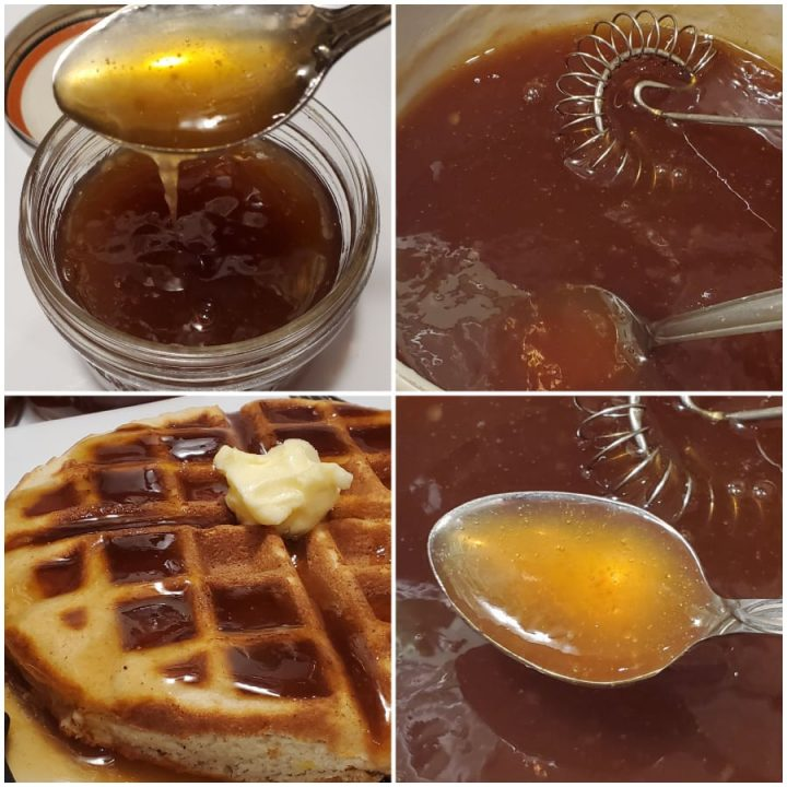 How to make keto maple syrup