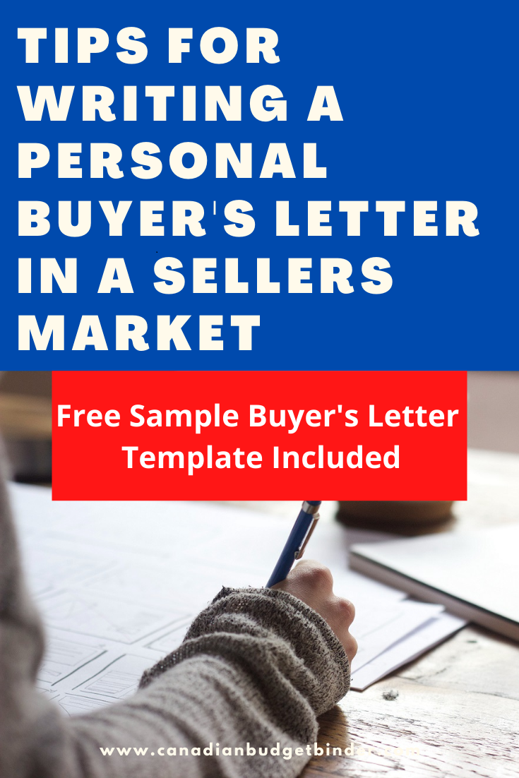 Writing A Buyer's Letter To A Home Seller (Free Sample Letter)