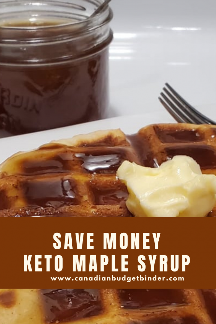 sugar-free maple syrup homemade
