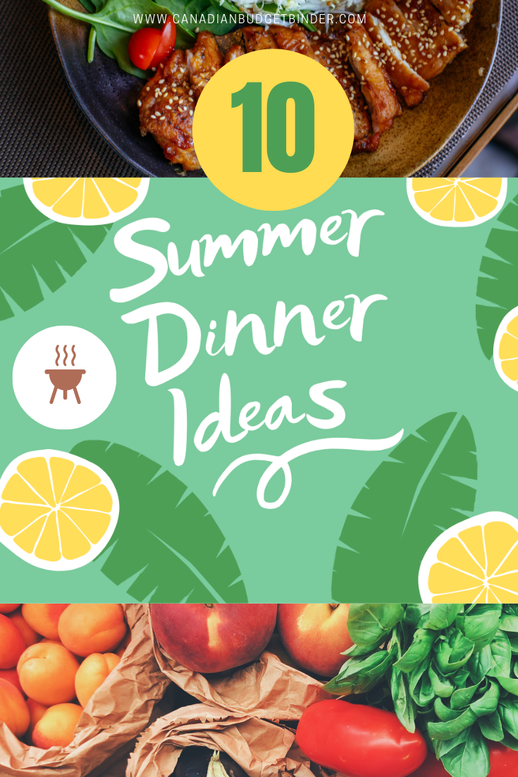Summer Dinner Ideas (Hot and Cold): The Saturday Weekend Review #330