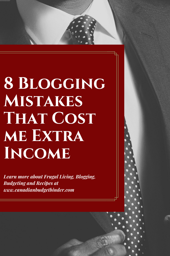 8 Blogging Mistakes That Cost Me Income