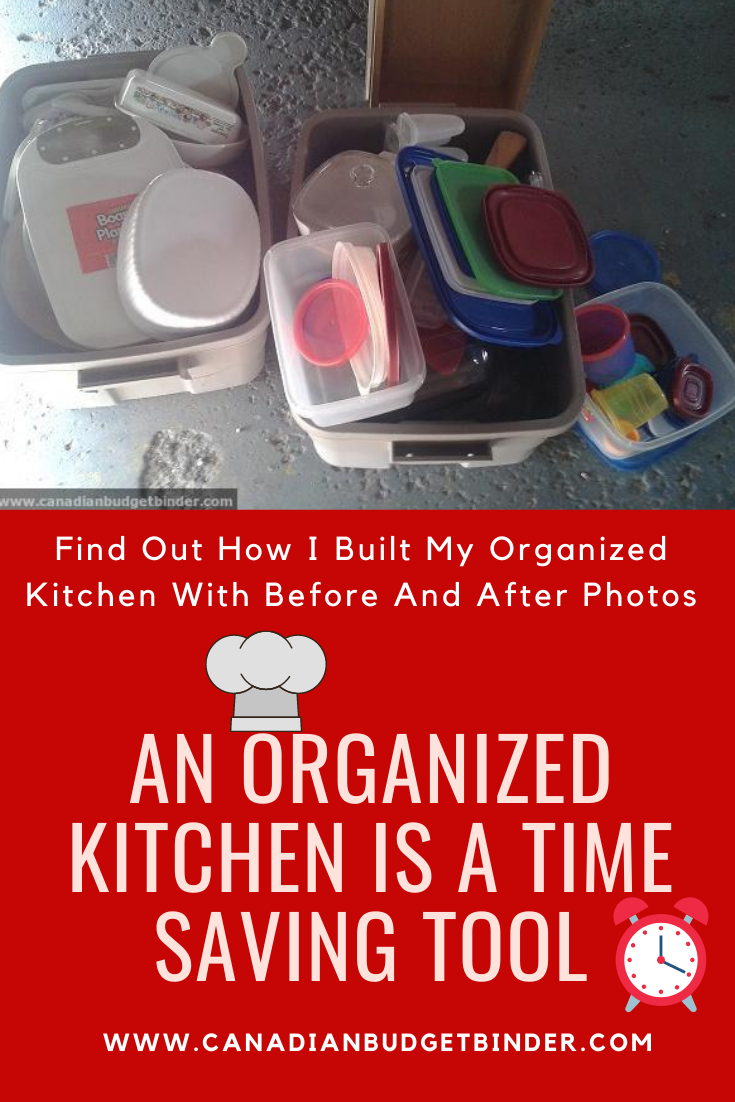 An Organized Kitchen Is A Time Saving Tool