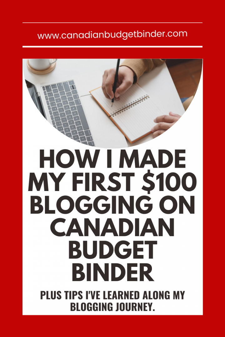 How to make money blogging in Canada.