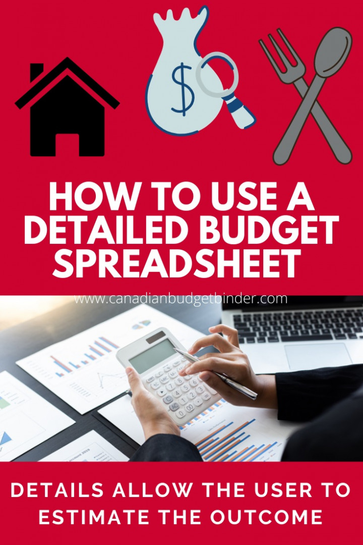 detailed budget template