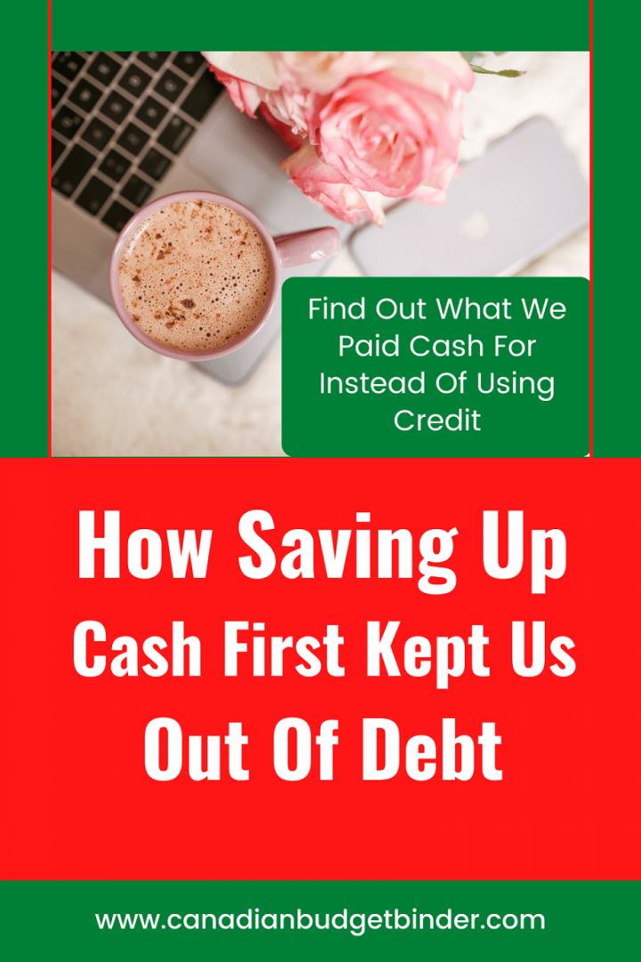 How Saving Up Cash Is The Best Way To Stay Out Of Debt