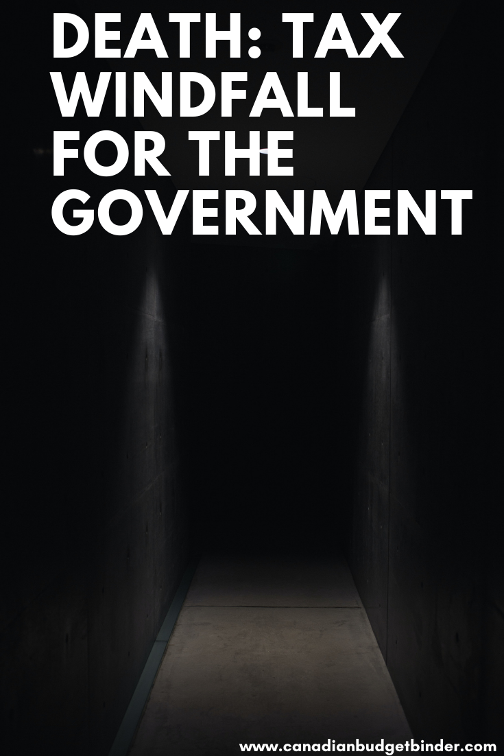 Death: Tax Windfall for the Government