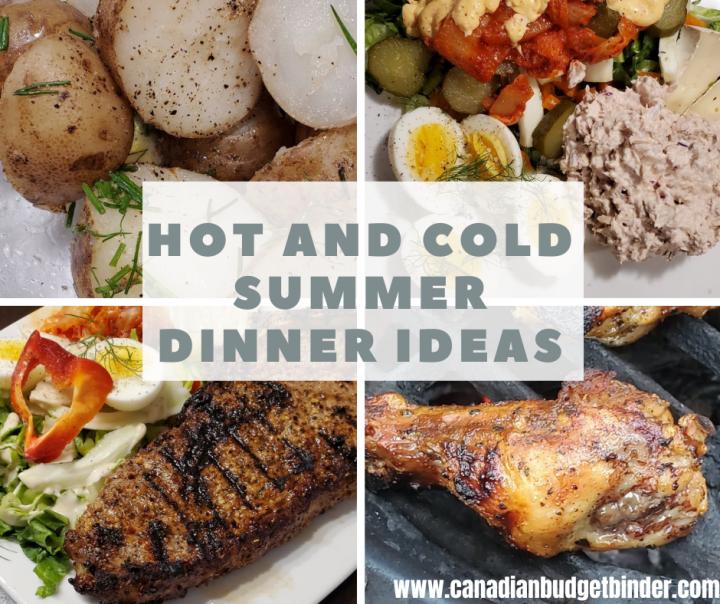 Summer meal ideas