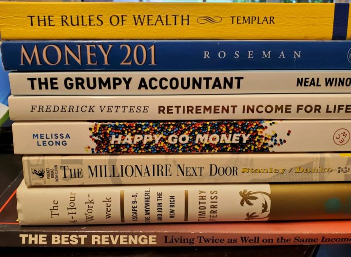 My Favourite finance books to learn about money.