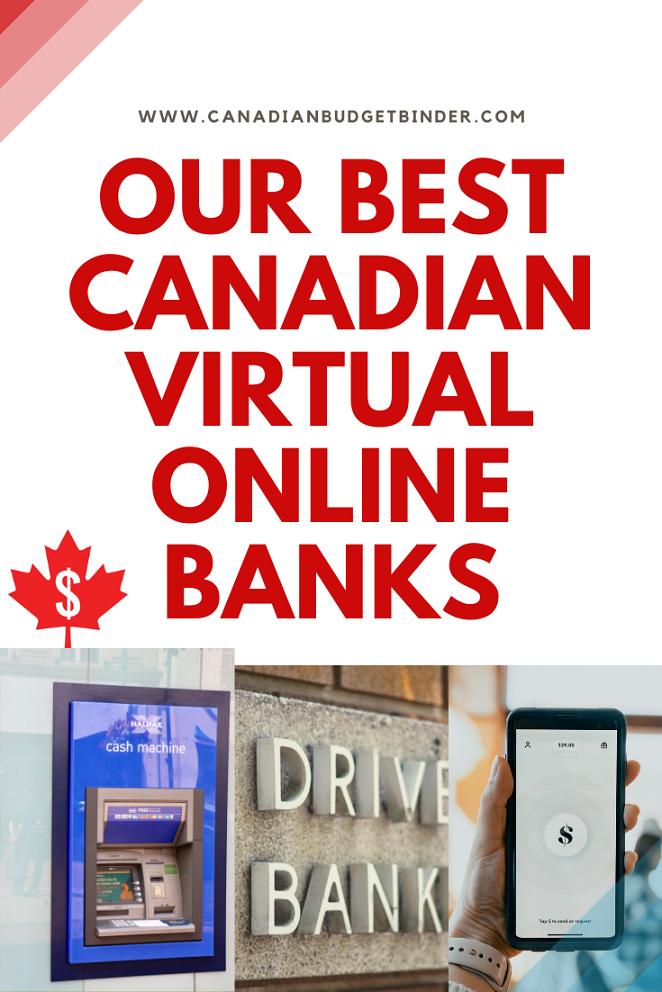 Top 4 Canada's Virtual Online Banks