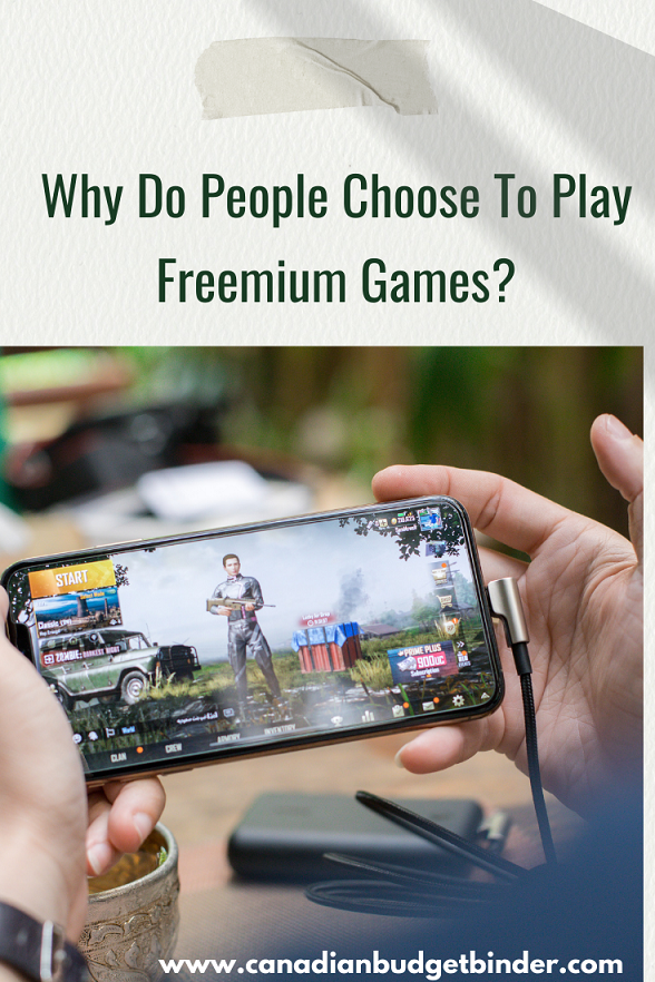 Why Do People Choose To Play Freemium Games?
