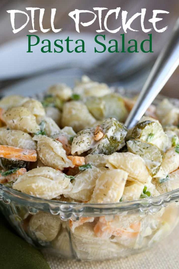 How To make dill pickle pasta salad