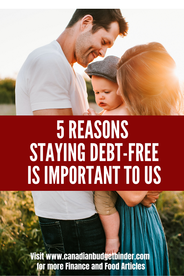 How staying debt-free will improve our retirement and our son with ASD's future.
