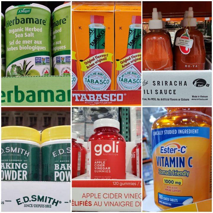 Keto Costco Canada Spices and Vitamins