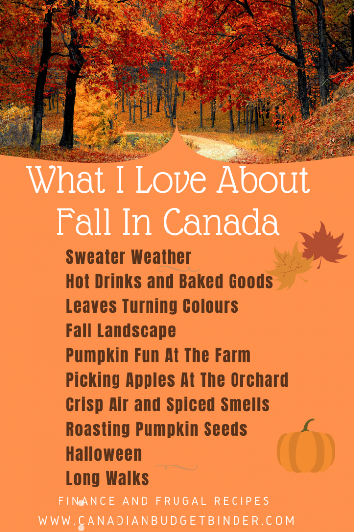 What I Love About Fall In Canada