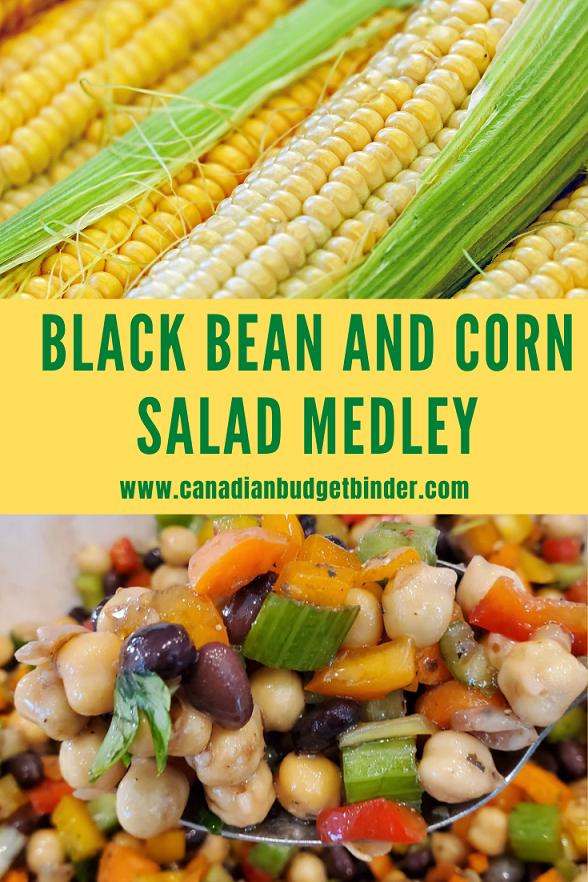 Black Bean And Corn Salad Medley