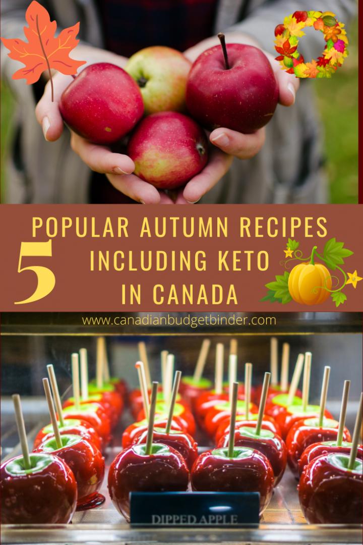 Popular Autumn Recipes In Canada Including Keto