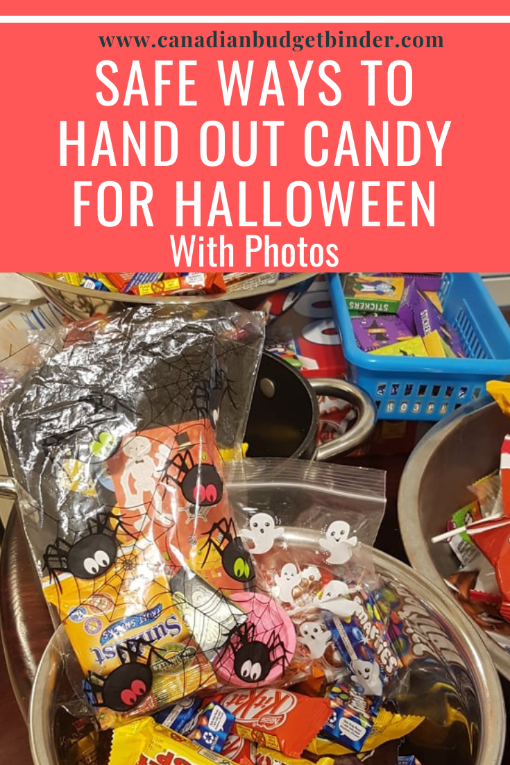 Safe Ways To Hand Out Candy For Halloween (With Photos)