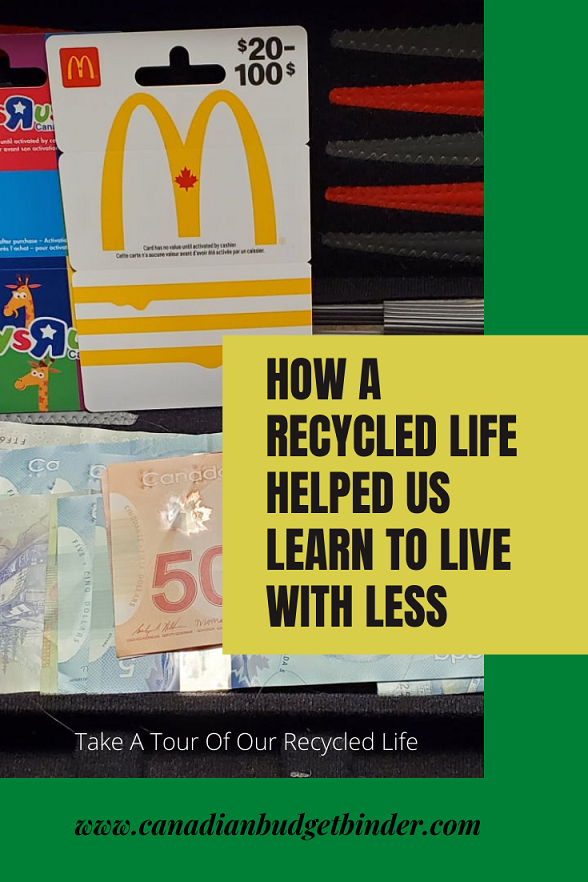 How A Recycled Life Helped Us Learn To Live With Less
